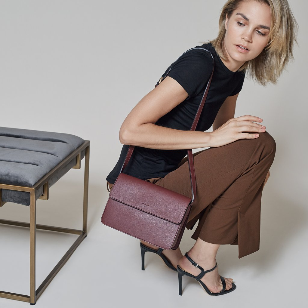 Angela Roi Launches a New Line of Vegan Leather Designer Bags Dedicated to Margaret Hamilton