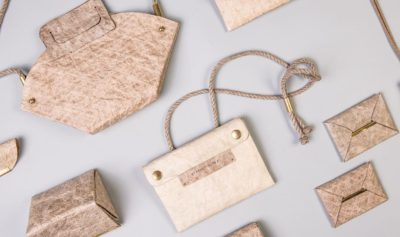 Malai Turns Coconut Water into Material for Vegan Leather Handbags