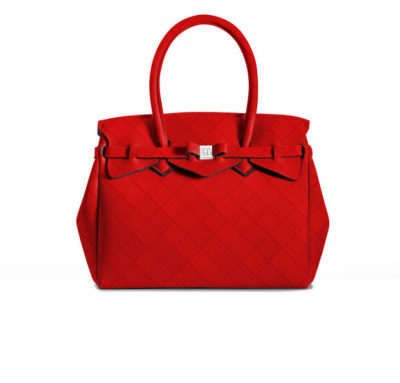 Fall Favorites: 15 Vegan Designer Handbags in Bright Red